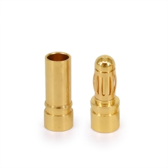 3.5mm gold plated connector