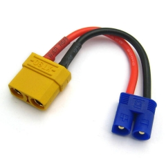 XT90 Female to EC3 Male Battery Conversion Cable