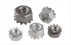 M3-M8 304 Stainless Steel Hexagon Multi Tooth/K-Type Nut