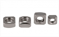 M2-M12 304 Stainless Steel Square Nut