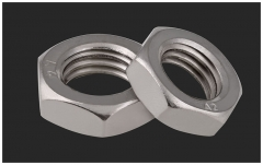 M3-M20 304 Stainless Steel Hexagon Thin Nut